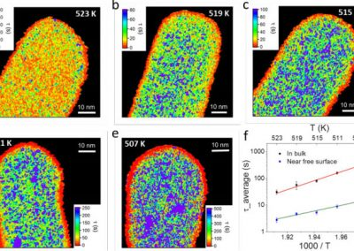 Spatially Heterogeneous Dynamics in a Metallic Glass Forming Liquid Imaged by Electron Correlation Microscopy
