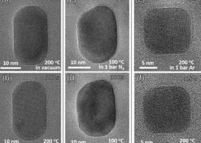 Unexpected refacetting of palladium nanoparticles under atmospheric N2 conditions