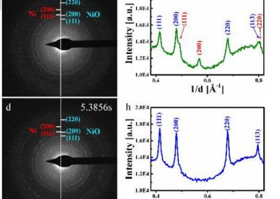 Fast Gas–Solid Reaction Kinetics of Nanoparticles Unveiled by Millisecond In Situ Electron Diffraction at Ambient Pressure