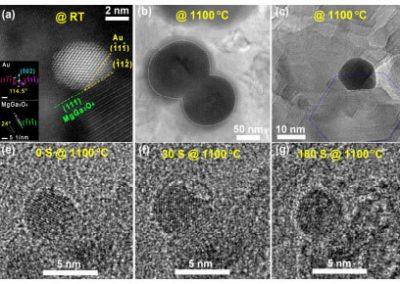 Exceptional anti-sintering gold nanocatalyst for diesel exhaust oxidation