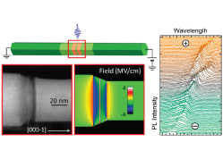 Correlated Electro-Optical and Structural Study of Electrically Tunable Nanowire Quantum Dot Emitters