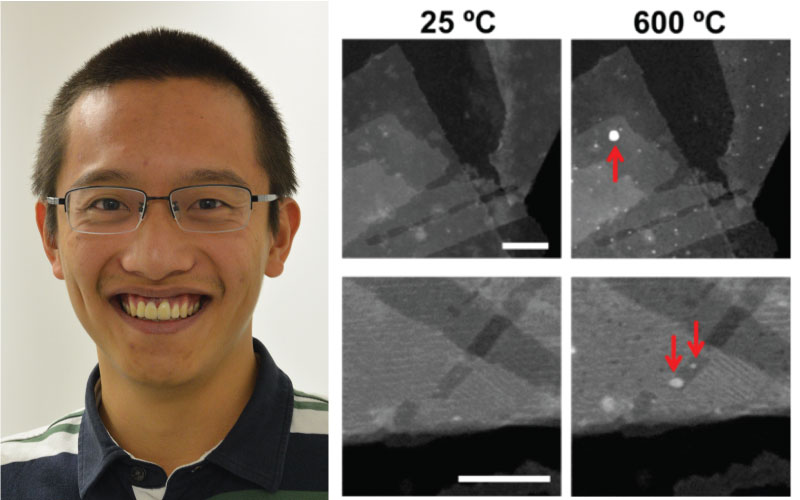 Wildfire In Situ heating system enables capturing the Structural evolution of co-catalysts