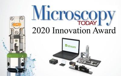 Stream-LPEM-system-Microscopy-Today-2020-Innovation-award-400x250