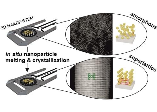 Understanding and Controlling the Crystallization Process in Reconfigurable Plasmonic Superlattices
